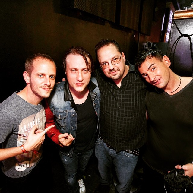 #TBT after the gig at @foundationsea in Seattle with @edxmusic and @ibluestone ... Such epic night!